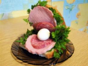 Бутерброд «Жемчужина»