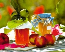 Варенье из яблок, имбиря и лимона