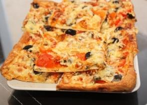 Быстрая итальянская  пицца