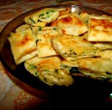 Лавашные рулетики с сыром и зеленью