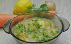 Луково-капустный суп «Легкий»