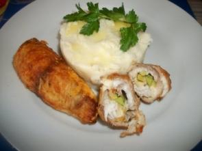 Рыбные рулеты с овощной начинкой