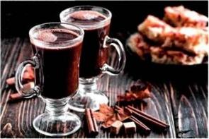 Кофейно-шоколадный смузи с кардамоном