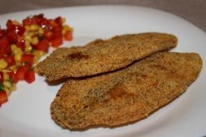 Рыба в кукурузной корочке